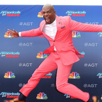 """Terry Crews arrives at the """"America's Got Talent"""" Season 14 Kickoff at the Pasadena City Auditorium on Monday, March 11, 2019, in Pasadena, Calif. (Photo by Willy Sanjuan/Invision/AP)"""